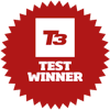 HTC One M7 award - T3 test winner