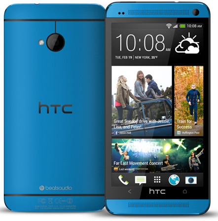 HTC One Mettalic Blue