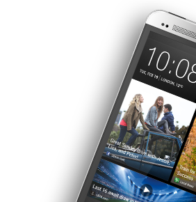 Preconfigure your phone with HTC Get Started.