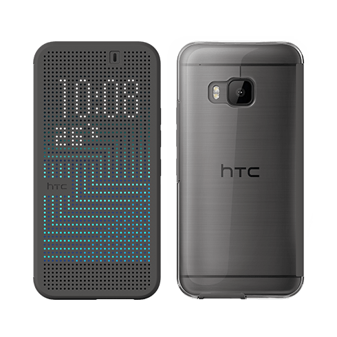 HTC Dot View™ Ice Premium - gray