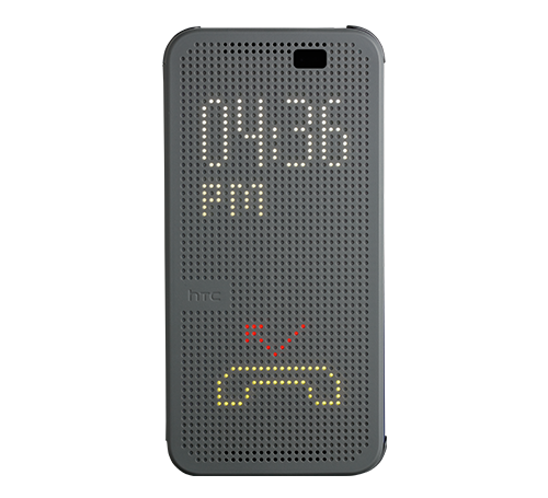 HTL23 Dot View Case - gray