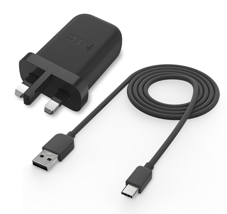 HTC Rapid Charger 3.0 + USB Type C Cable