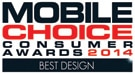 Mobile Choice Consumer Award 2014 Best Design