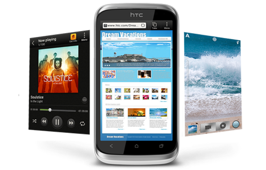 HTC Desire X - Stay on top with outstanding performance.