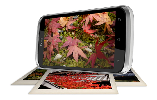 HTC Desire X - Enjoy crisp, clear visuals under every condition.