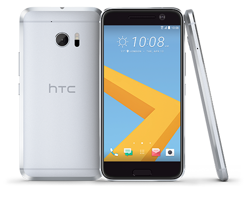 HTC 10 Opal Silver smartphones