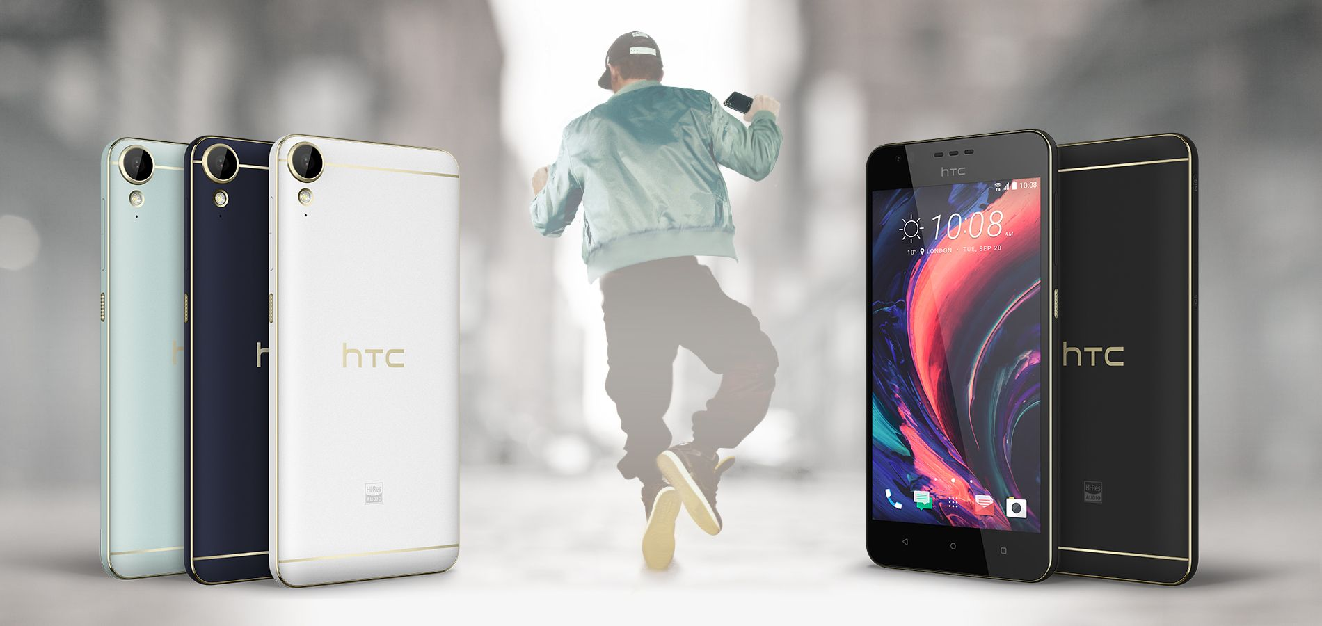 Desire 10 Lifestyle (Polar white)