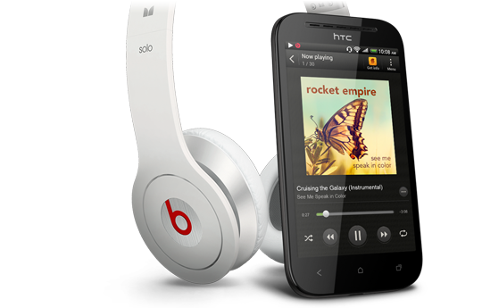 HTC Desire SV - Exclusive Beats Audio.