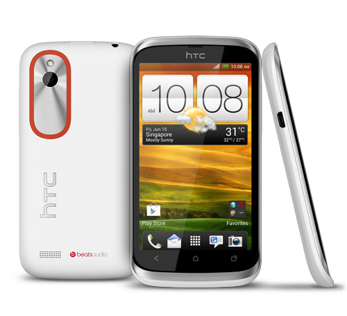 HTC Desire V T328W White DUAL SIM (Factory Unlocked) 5MP ,Beats Audio Android 4 at Sears.com