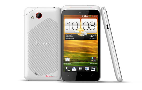 HTC Desire XC - Don't just listen to your music—feel it.
