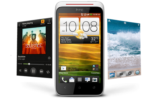 HTC Desire XC - Stay on top with outstanding performance.