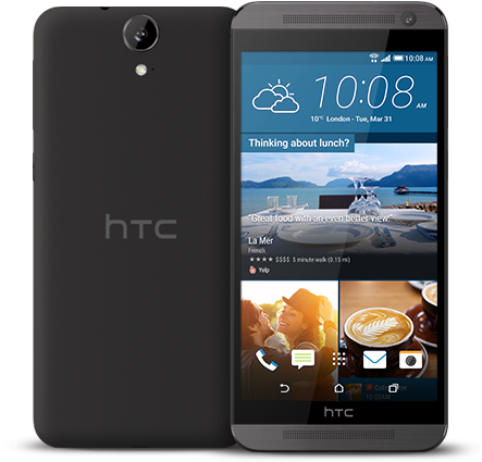 HTC One E9 dual sim Purple Myst