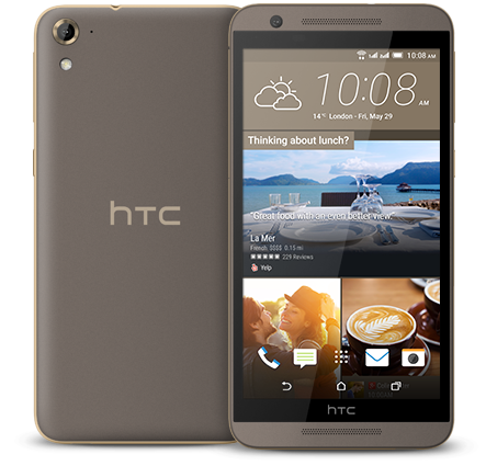 HTC One E9s dual sim Roast Chestnut