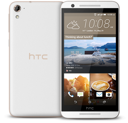 HTC One E9s dual sim White Luxury