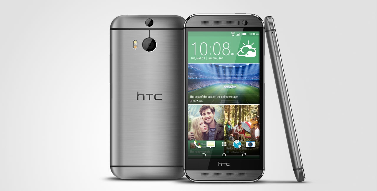 HTC One M8 - Android-альтернатива iPhone 5S