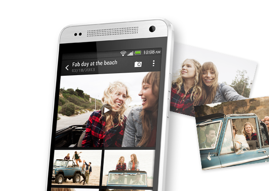 HTC Zoe™: Your Gallery Brought to Life