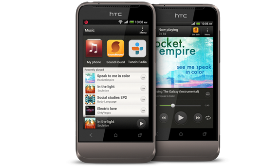 HTC One V - Un son authentique