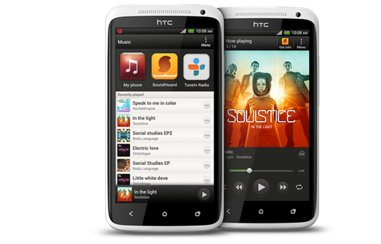 HTC One X - Authentic sound