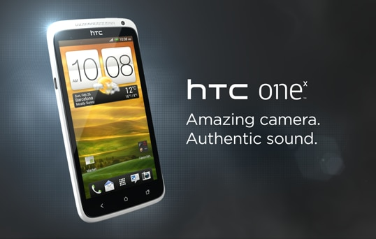 HTC One X - Minimalist design