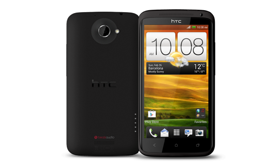 HTC One XL - Minimalist design