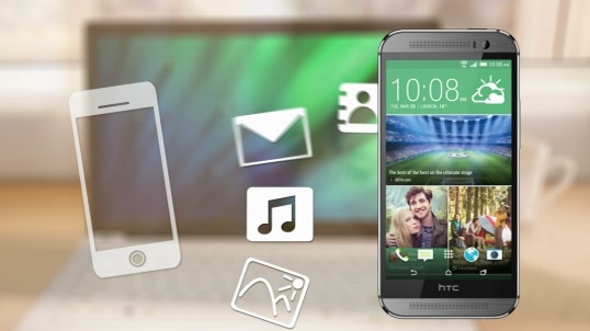 Move iPhone stuff to your phone with HTC Sync Manager