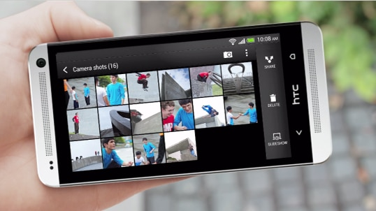 Bring your gallery to life with HTC Zoe