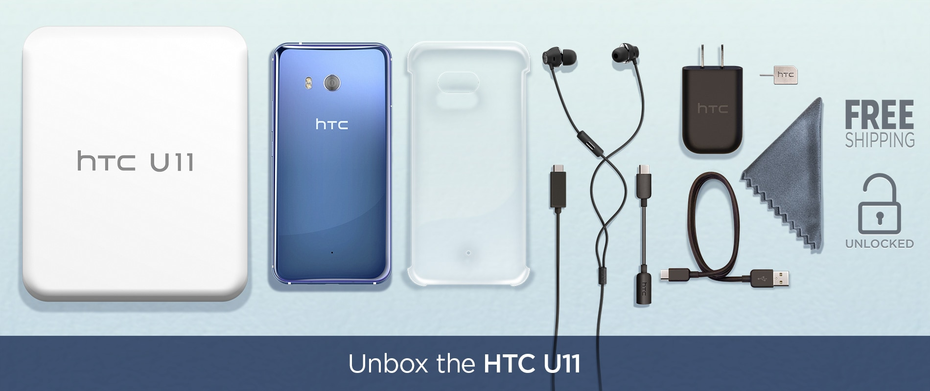 Unlock the U11 - Only at HTC.COM