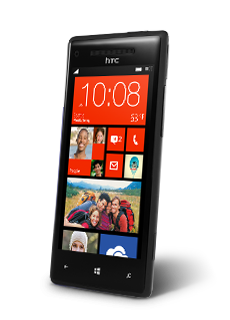 Windows Phone 8X by HTC (Black)