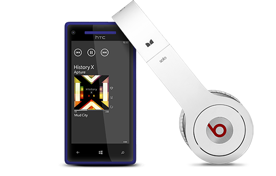 Amplifié par Beats Audio™.