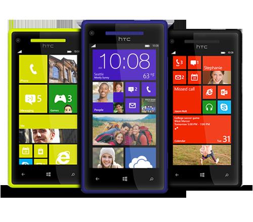 windows phone 8x and 8s specs