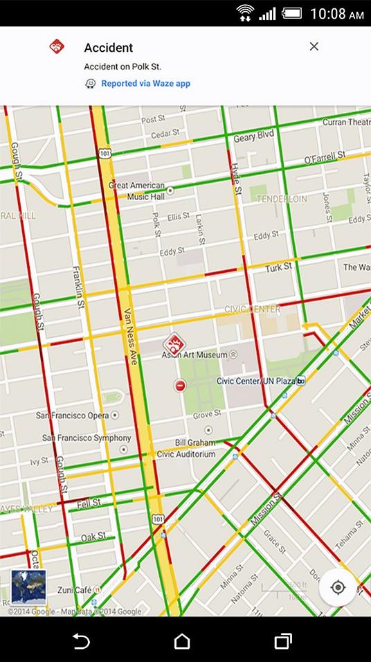 自転車の google maps 自転車 ルート : Google Maps App
