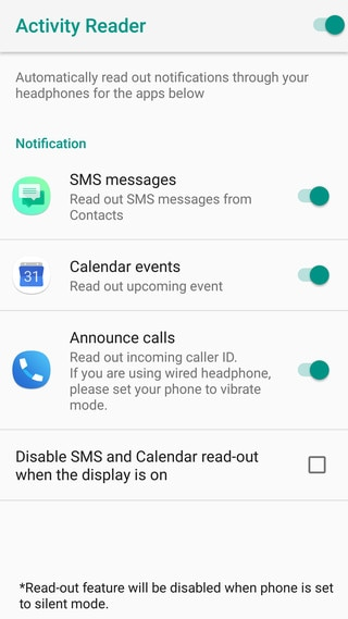 HTC U12+ - Turning Activity Reader on - HTC Support | HTC