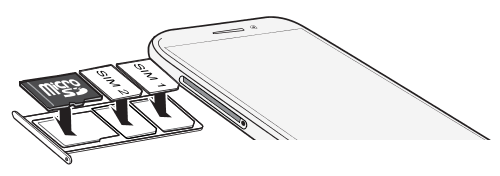 Htc One Sim Karte Einlegen.Htc Desire 12 Einsetzen Der Nano Sim Und Microsd Karten Htc