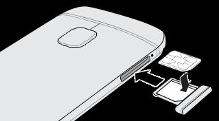 Htc One Sim Karte Einlegen.Htc One M9 Nano Sim Karte Htc Support Htc Deutschland