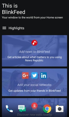HTC Desire 650 - What is HTC BlinkFeed? - HTC SUPPORT | HTC UK